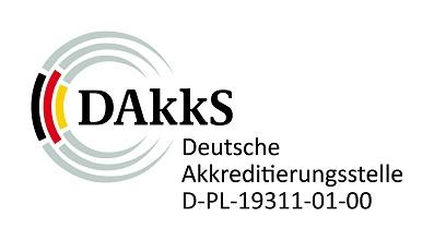 Logo der Deutschen Akkreditierungsstelle