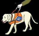Illustration zeigt einen Blindenbund
