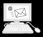 Illustration zeigt eine E-Mail