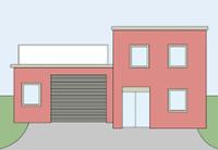 Illustration einer Firma
