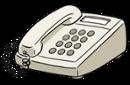 Illustration eines Telefons
