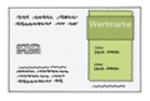 Illustration einer Wertmarke zur Nutzung des ÖPNV