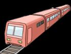 Illustration zeigt einen roten Zug