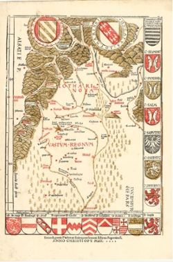 Historische Regionalkarte