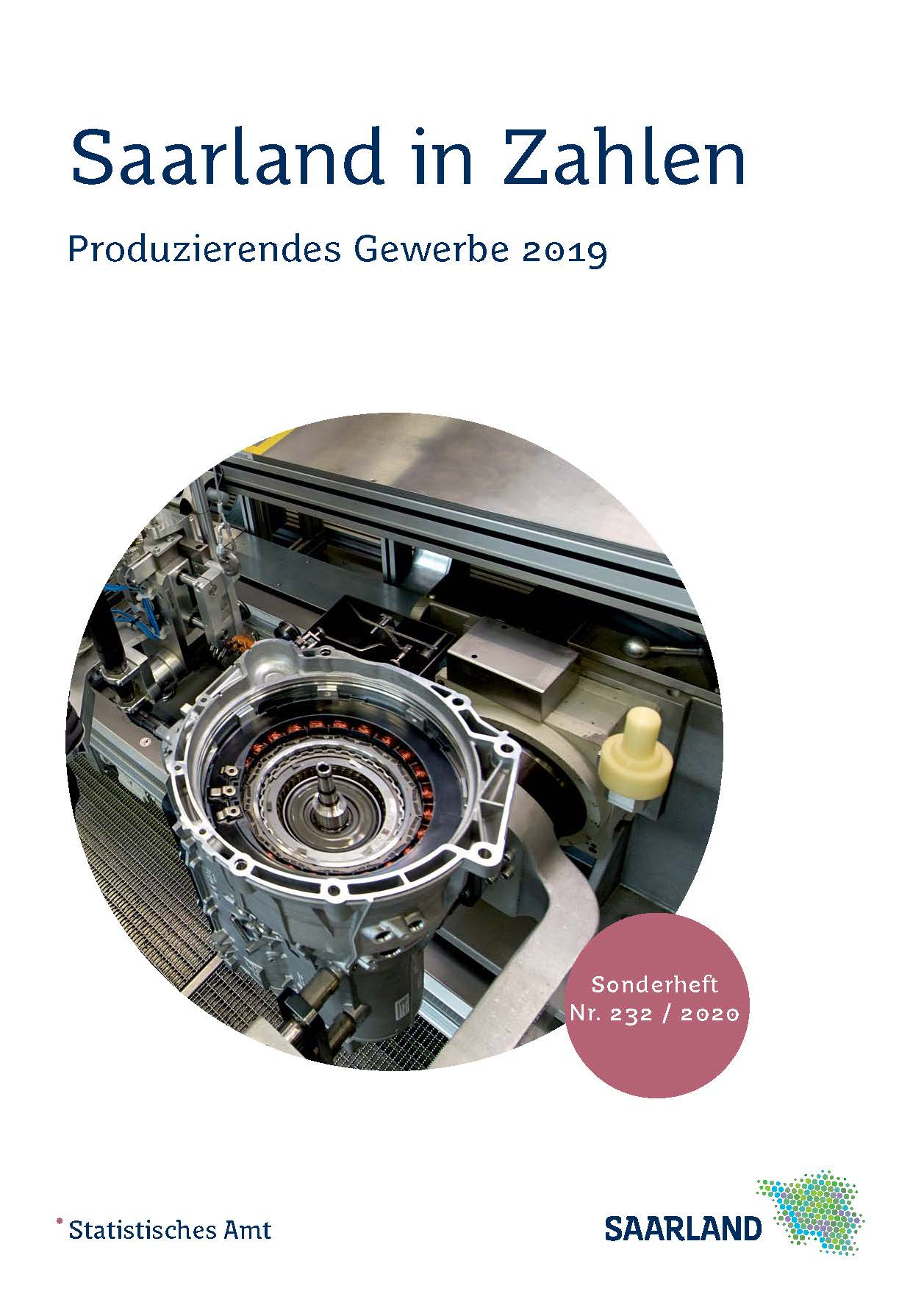 Cover Produzierendes Gewerbe 2019
