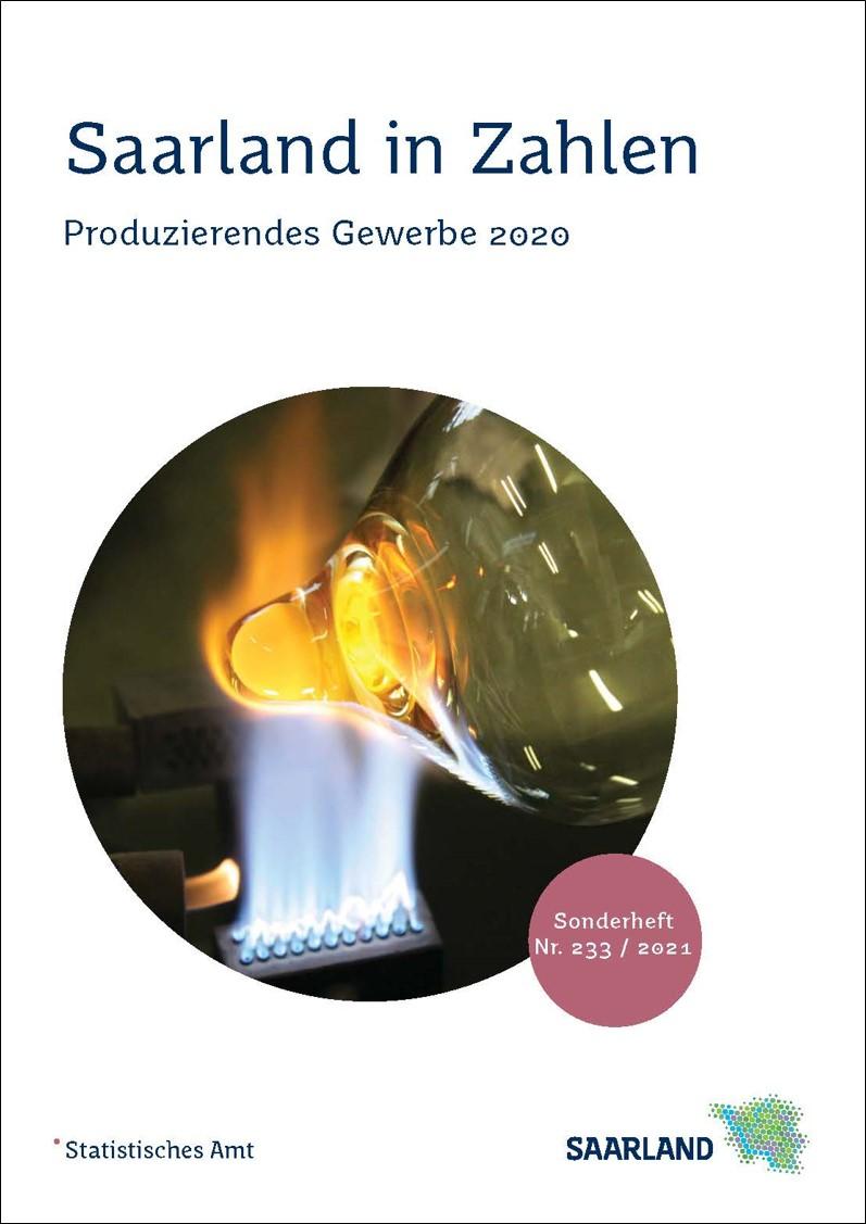 Cover Produzierendes Gewerbe 2020